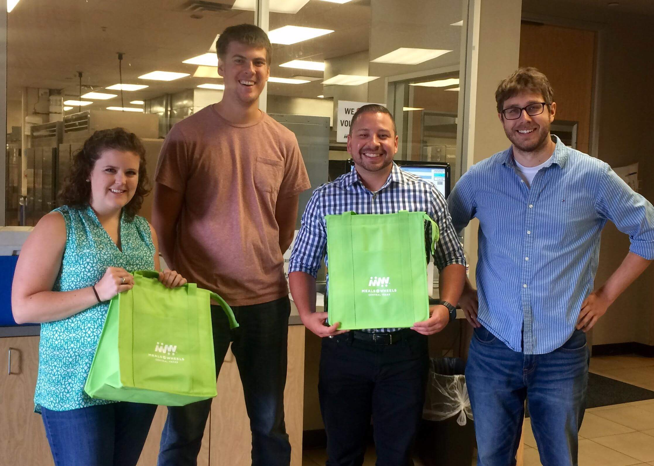 Taskstream-Tk20 team members donate time to deliver meals on behalf of higher ed institutions.