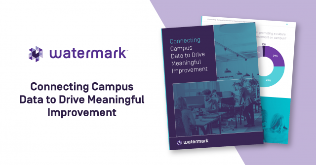 connecting campus data to drive meaningful course improvement with watermark