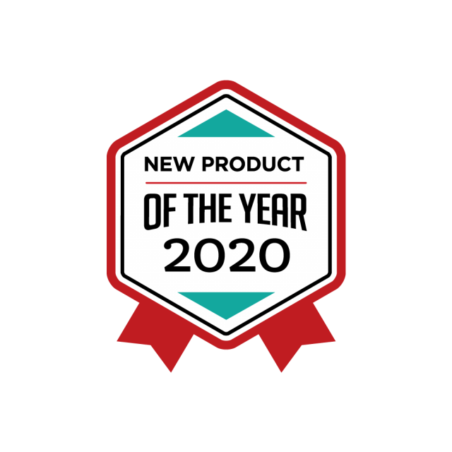 image of new product of the year 2020 ribbon