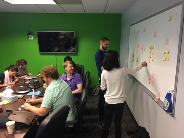 Taskstream-Tk20 Product team members take a deep dive into user workflows