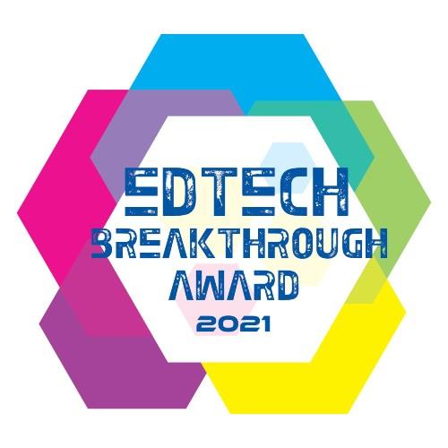 2021 EdTech award logo