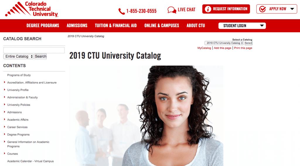 Colorado-technical-course-catalog