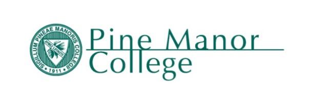image of Pine Manor College logo