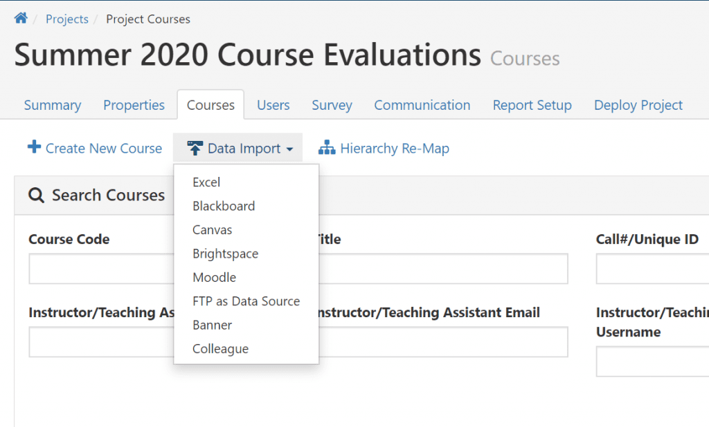 summer 2020 course evaluation watermark course evaluation solutions